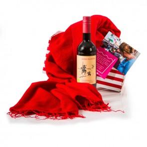 Sjaal met Verhaal meets Wine