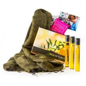 Sjaal met Verhaal & olijfolie proeverij
